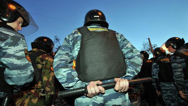 Задержания участников сбора оппозиции на Баррикадной