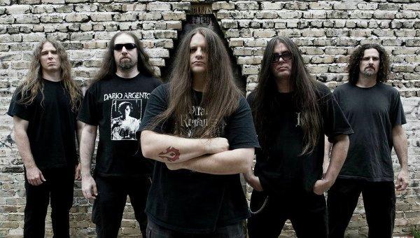 Американская группа Cannibal Corpse