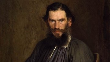 Иван Крамской, Портрет Л.Н. Толстого, 1873