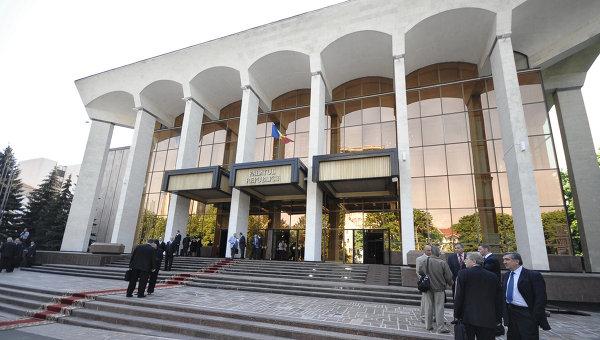 Здание Дворца республики в Молдавии