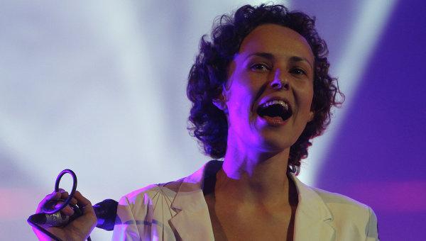 Певица Юлия Чичерина. Архивное фото