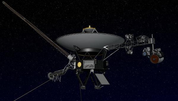 Межпланетный зонд Вояджер-1. Архивное фото