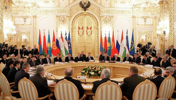Саммит глав государств ОДКБ. Архивное фото