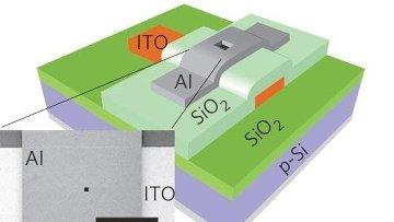 Вакуумный гибридный транзистор, разработанный Кимом и его коллегами