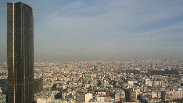 Башня Монпарнас в Париже. Архивное фото
