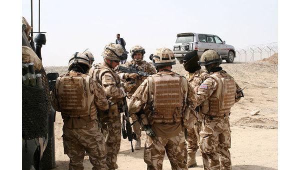 Солдаты ISAF