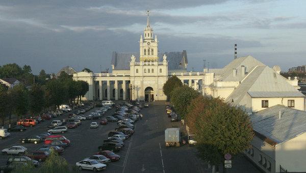 Железнодорожный вокзал Бреста. Архивное фото