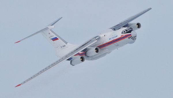 Врайоне пожаров Иркутской области пропал Ил-76