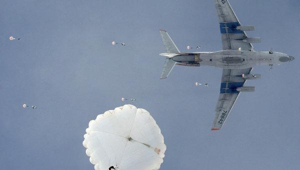 Учения Воздушно-десантных войск (ВДВ)