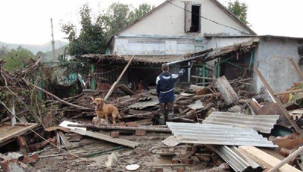 Пострадавшие от наводнения районы Кубани
