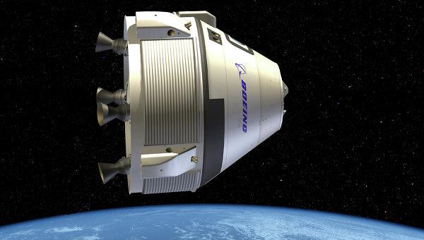 Космическая капсула CST-100, разработанный компанией Boeing