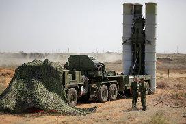 Тактические учения войск ВКО РФ. Архивное фото