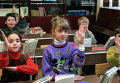 Ученики одной из московских средних школ