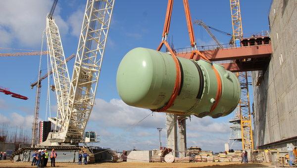 Завершена сборка реактора первого энергоблока Нововоронежской АЭС-2