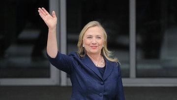 Бывшая первая леди и экс-госсекретарь США Хиллари Клинтон. Архивное фото