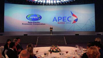 Прием от имени президента РФ в честь лидеров экономик АТЭС
