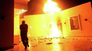 Пожар в консульстве США в Бенгази, Ливия