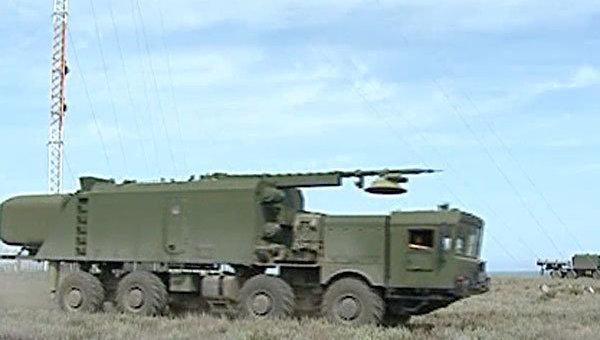 Береговой ракетный комплекс Бал на учениях Кавказ-2012