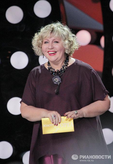 Актриса Марина Голуб на церемонии награждения лауреатов премии Золотой орел