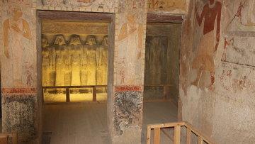 Гробница жены фараона Хефрена, архивное фото