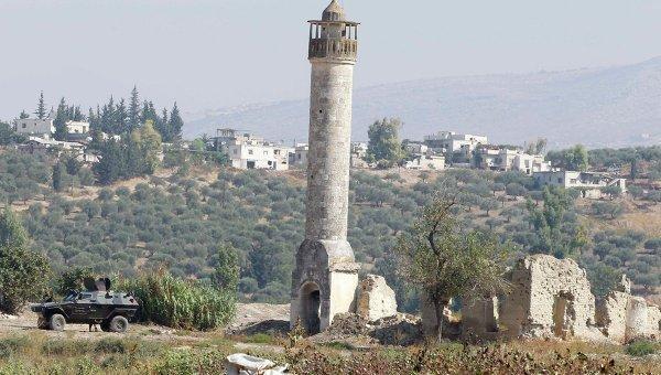 Граница Сирии и Турции, архивное фото