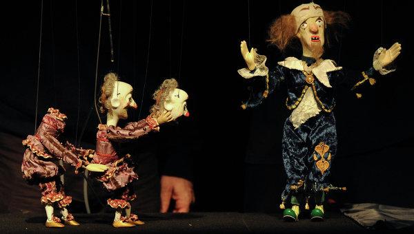 Предпремьерный прогон спектакля Рамона театра Резо Габриадзе. Архивное фото