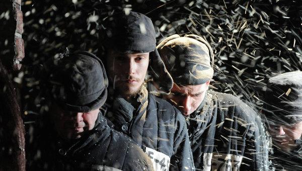 Сцена из спектакля по пьесе Александр Володина Пять вечеров