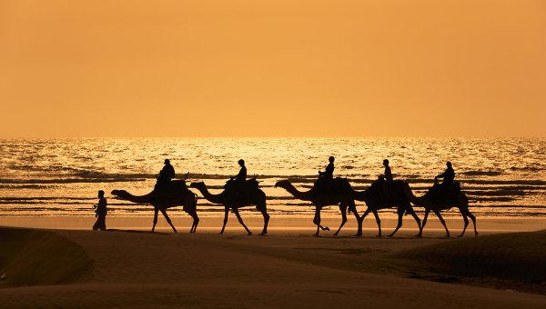 Побережье Марокко. Архивное фото