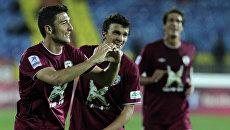 Футболисты казанского Рубина