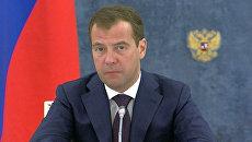 Медведев требует, чтобы космические миллиарды не выбрасывали на ветер