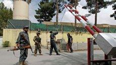 У ворот военной базы США в Кабуле. Архивное фото