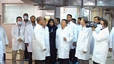 Первый в истории визит иностранного президента на ядерный объект в Иране