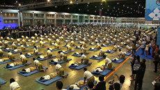 Самый массовый сеанс тайского массажа провели в Бангкоке ради рекорда