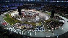 Парад участников Олимпийских игр в Лондоне