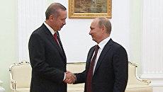 Путин и Эрдоган сообщили, на чем сошлись по сирийскому вопросу