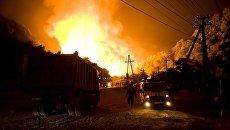 Взрыв газопровода в Сочи