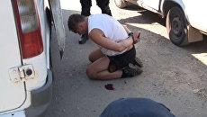 Задержание группы предполагаемых киллеров в Волгограде. Оперативная съемка
