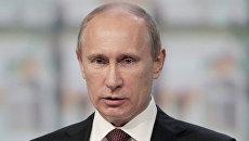 Президент России Владимир Путин на XVI Петербургском международном экономическом форуме