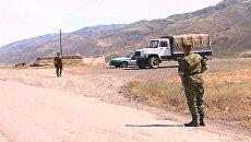 Военные прочесывают окрестности погранзаставы, где убиты 14 человек