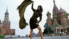 Манекенщица Александра Муравьева
