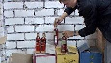 Тонны паленого алкоголя изъяли оперативники в лавке по продаже боярышника