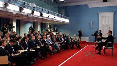 Встреча Д. Медведева с экспертами Открытого правительства