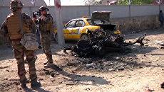 Талибы проводили Обаму из Кабула серией взрывов. Кадры с места терактов