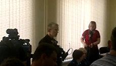 На первом заседании суда Олег Шеин сделал принципиальное заявление