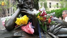 Памятная церемония в честь самой романтичной пары, погибшей на Титанике