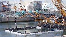 Ремонтные работы на АЭС Фукусима-1