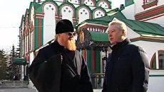 Собянин проверил, как обновился один из самых красивых храмов Москвы
