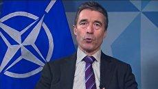 Видеоконференция с участием Генерального секретаря НАТО Андерса Фог Расмуссена