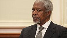 Кофи Аннан. Архив