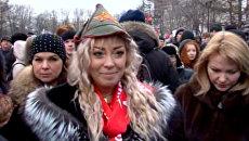 Около трехсот сторонников КПРФ в Москве требовали отставки главы ЦИК РФ